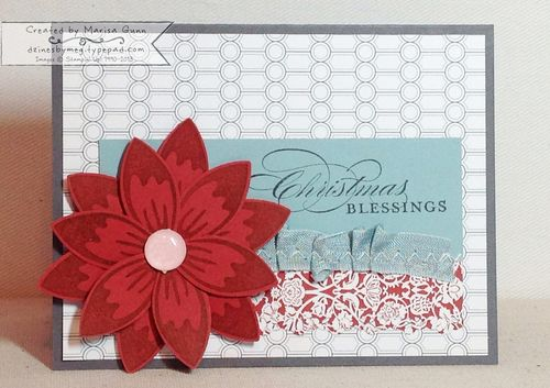 Christmas-Blessings-Poinsettia-Logo