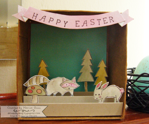 EasterShadowbox_2