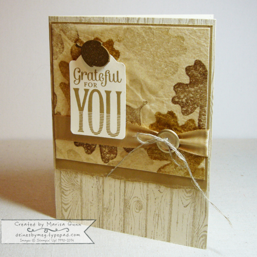 CYCI43, For All Things, Hardwood and Merry Everything friendship card by Marisa Gunn