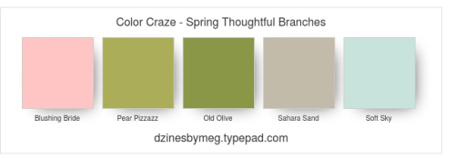 Color Craze - Spring Thoughtful Branches