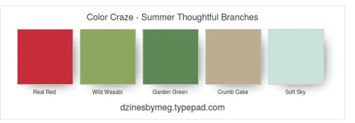 Color Craze - Summer Thoughtful Branches