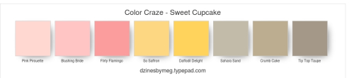 Color Craze - Sweet Cupcake