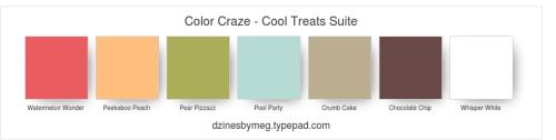 Color Craze - Cool Treats Suite