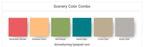 Scenery Color Combo