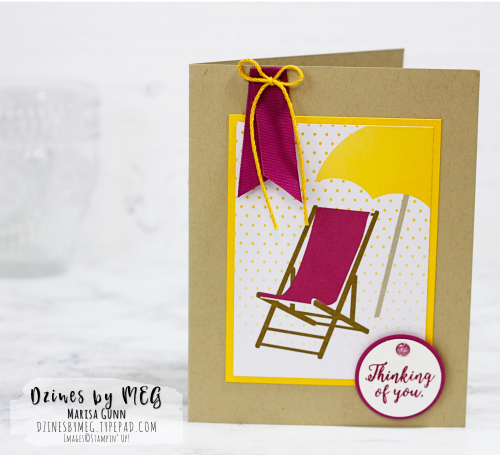 Pocket page and friendship cards featuring the Memories & More Color Theory Card Pack from Stampin' Up by Marisa Gunn