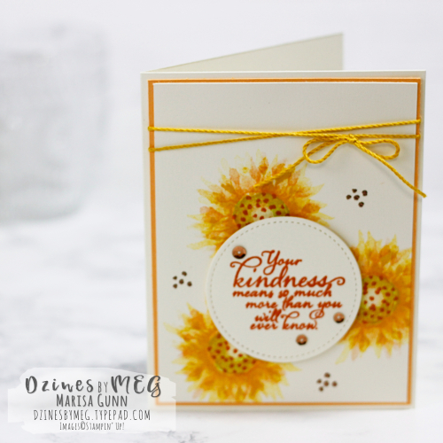 Friendship cards featuring the Painted Harvest Stamp Set from Stampin' Up by Marisa Gunn