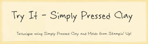 Try It Simply Pressed Clay Graphic