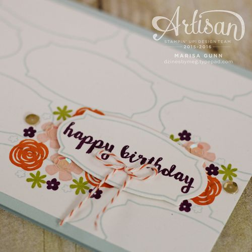 Paper Pumpkin February 2016 from Stampin' Up!, alternate card ideas by Marisa Gunn