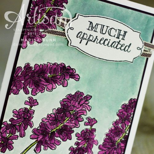 May Flowers and water-coloring cards and spring home decor using the Helping Me Grow Stamp Set from Stampin' Up! by Marisa Gunn