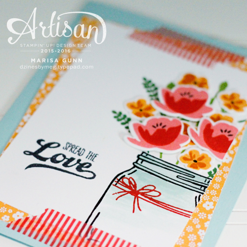 Cards and gift box using the Jar of Love bundle from Stampin' Up by Marisa Gunn for Fancy Friday Blog Hop