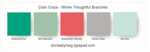 Color Craze - Winter Thoughtful Branches