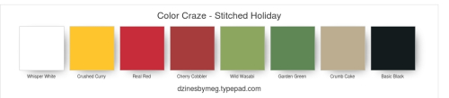 Color Craze - Stitched Holiday