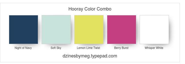 Hooray Color Combo