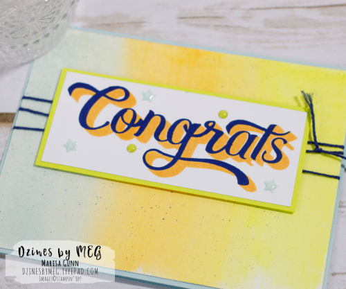 Bold greeting cards featuring the Double Take stamp set from Stampin' Up by Marisa Gunn for Fancy Friday.