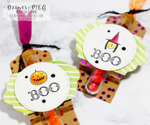 Halloween Treats featuring the Creep It Real Stamp Set from Stampin' Up! by Marisa Gunn