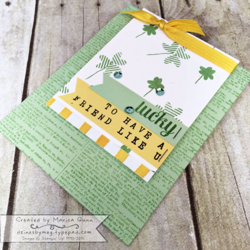 Can You Case It #61 Best Day Ever friendship card by Marisa Gunn