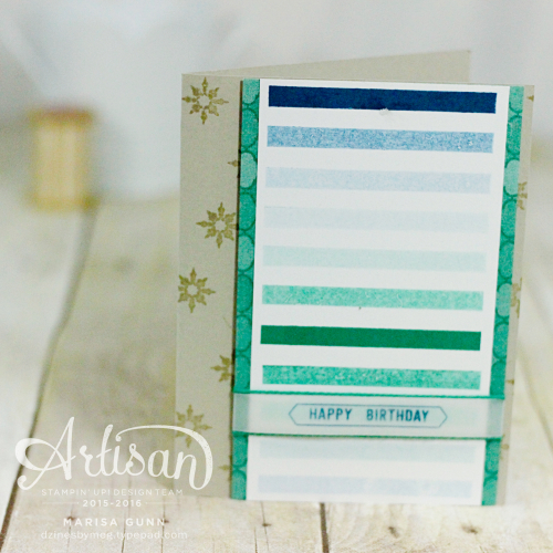 Birthday and Friendship Cards featuring Thoughtful Banners Bundle and Moroccan Nights Stamp Set from Stampin' Up! by Marisa Gunn.