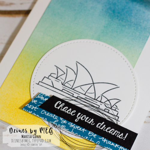 Friendship cards featuring the Chase Your Dreams set from Stampin' Up by Marisa Gunn for the One Stamp At a Time Blog Hop.