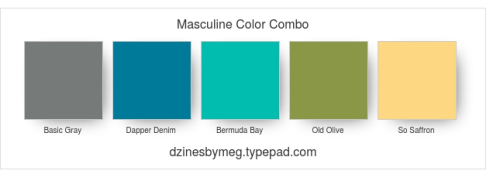 Masculine Color Combo