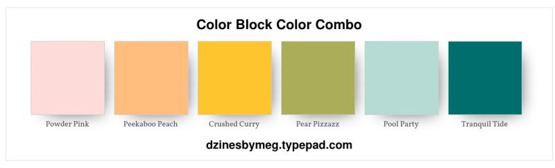 Color Block Color Combo