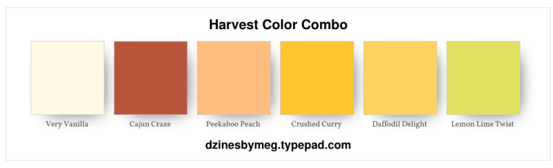 Harvest Color Combo