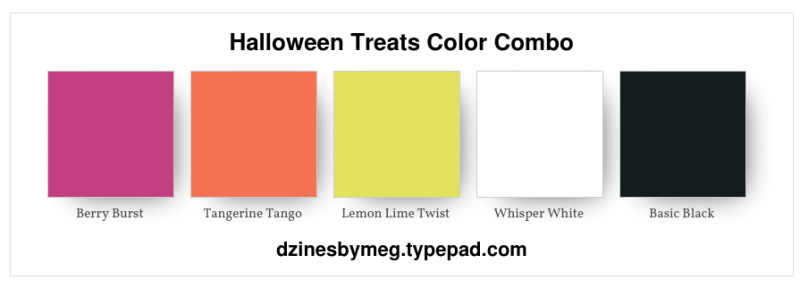 Halloween Treats Color Combo