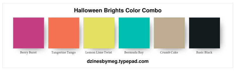 Halloween Brights Color Combo