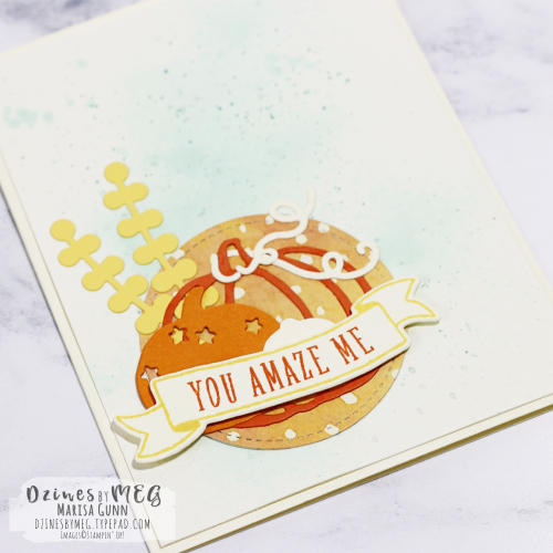 Encouragement card featuring the Pick a Pumpkin Stamp Set from Stampin' Up! by Marisa Gunn