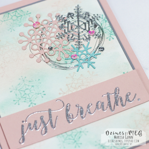 Encouragement card featuring Colorful Seasons bundle from Stampin' Up by Marisa Gunn