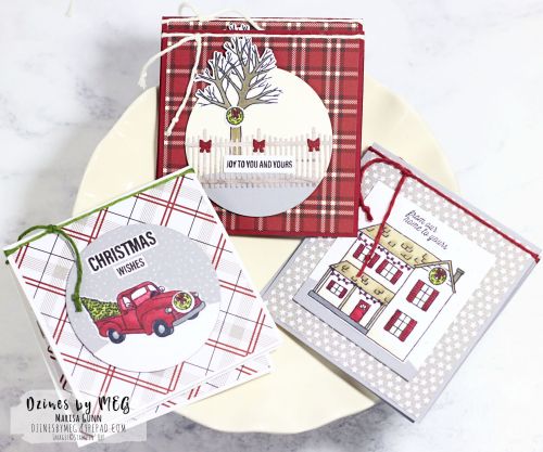 Fancy Friday Blog Hop featuring the Farmhouse Christmas Bundle from Stampin' Up by Marisa Gunn