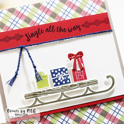 Christmas Cards featuring the Alpine Adventure bundle from Stampin' Up by Marisa Gunn for Fancy Friday