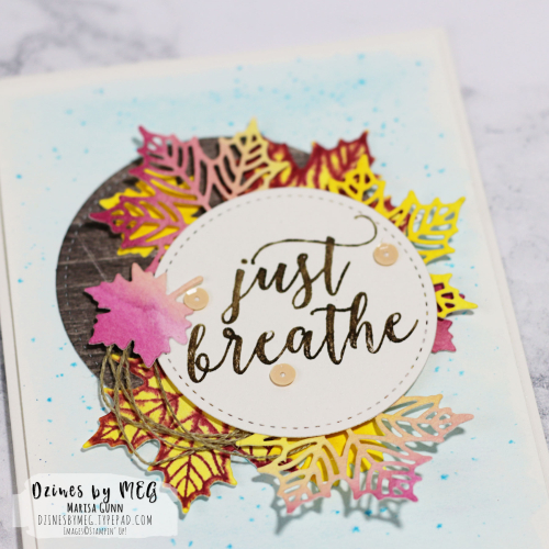 Encouragement card featuring the Colorful Seasons bundle from Stampin' Up by Marisa Gunn
