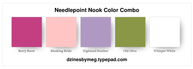 Needlepoint Nook Color Combo