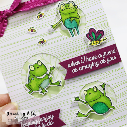 Friendship card featuring So Hoppy Together Stamp Set by Stampin' Up! from Marisa Gunn for TGIFC202